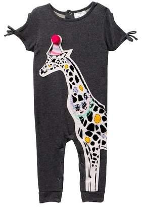Rosie Pope Giraffe Romper (Baby Girls 12-24MO)