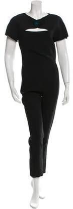 Osman Cutout Short Sleeve Jumpsuit