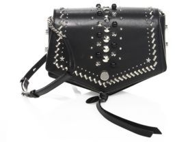 Jimmy ChooJimmy Choo Arrow Studded Leather Crossbody Bag