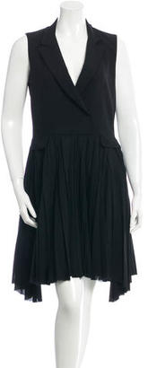 Boy. by Band of Outsiders Wool Collared Dress $130 thestylecure.com