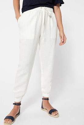 Witchery Stitched Linen Pant