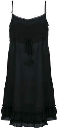 Twin-Set drawstring shift dress