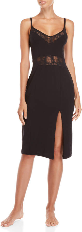 Cosabella Black Montie Midi Nightgown