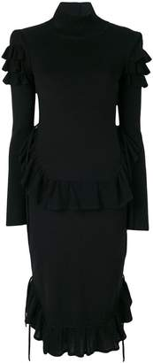 DSQUARED2 ruffled dress