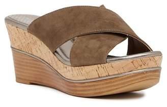 Donald J Pliner Dani Crisscross Wedge Sandal