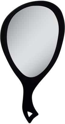 Zadro Teardrop Hand Mirror, Large, Black by