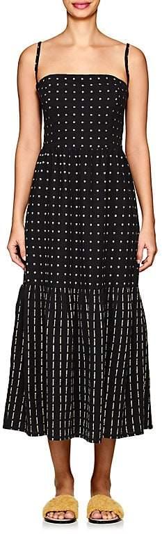 Women's Dusty Cotton Maxi Dress
