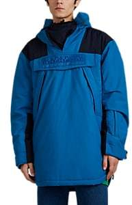 Martine Rose Napa by Men's Colorblocked Cotton-Blend Anorak - Md. Blue