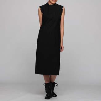 Maison Margiela (メゾン マルジェラ) - メゾン マルジェラ COTTON WOOL PINSTRIPED DRESS