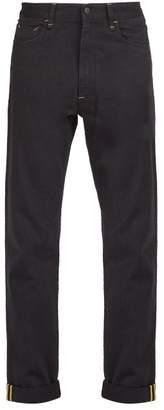 Fendi Mania Straight Leg Jeans - Mens - Black