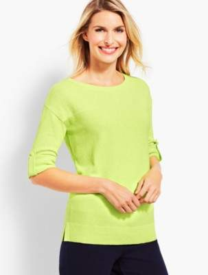 Talbots Roll-Cuff Sweater