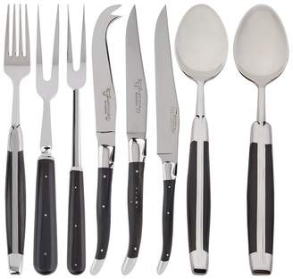 Laguiole Ebony 28-Piece Cutlery Set