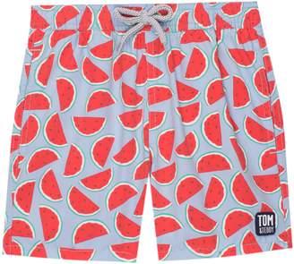 Trunks Tom & Teddy Watermelon Print Swim