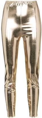Lisa Marie Fernandez Karlie metallic leggings