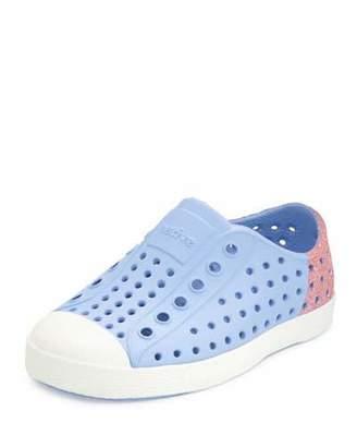 Native Jefferson Waterproof Glitter-Trim Low-Top Shoe, Youth $52 thestylecure.com