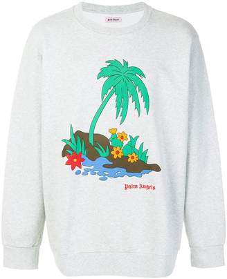 Palm Angels Palm Island sweatshirt