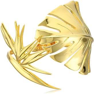 Noir Philodendron Bangle Bracelet