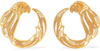 Mallarino Pepa Gold Vermeil Hoop Earrings
