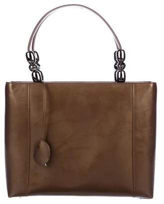 Christian Dior Patent Leather Malice Tote