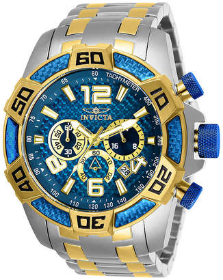 Invicta Pro Diver Mens Chronograph Two Tone Stainless Steel Bracelet Watch-25855