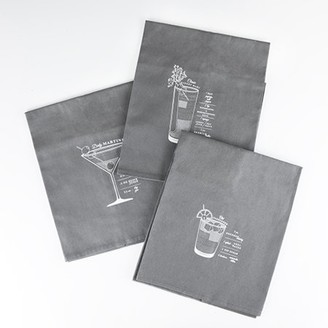 Viski Admiral: Bar Cart Cocktail Towels (VISKI)