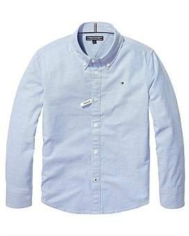 Tommy Hilfiger Boys Stretch Oxford Shirt L/S (Boys 8-14 Years)