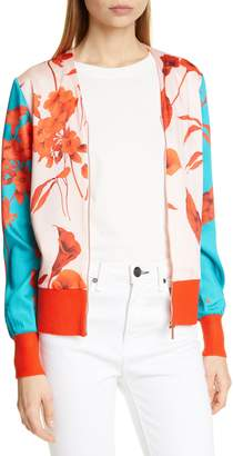 Ted Baker Cortnee Fantasia Bomber Jacket