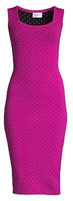 Milly Women's Micro Dot Bodycon Dress