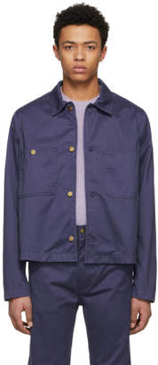 Acne Studios Bla Konst Blue Unreal Jacket
