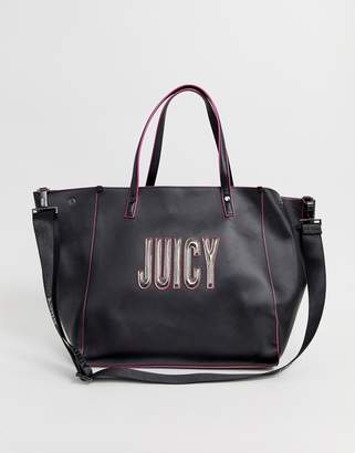 Juicy Couture logo tote