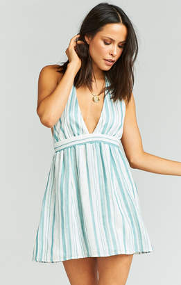 Show Me Your Mumu Island Mini Dress ~ Point Dume Stripe