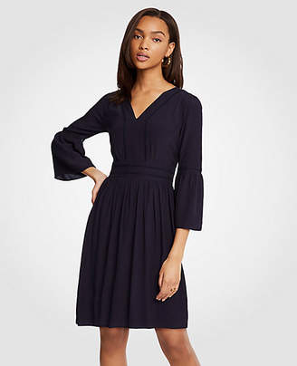 Ann Taylor Cutout Flare Sleeve Dress