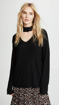 R 13 Choker Cashmere Sweater