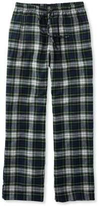 L.L. Bean L.L.Bean Scotch Plaid Flannel Sleep Pants, Plaid