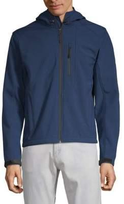 William Rast Full-Zip Hooded Jacket