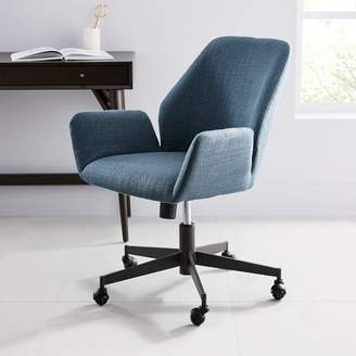west elm office chair. At West Elm · Aluna Upholstered Office Chair R
