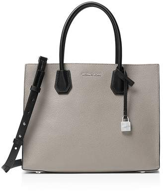 MICHAEL Michael Kors Studio Mercer Tricolor Convertible Large Leather Tote $298 thestylecure.com