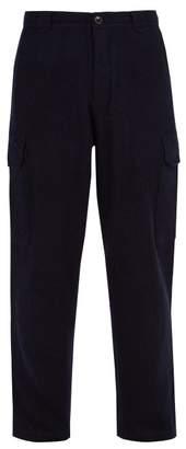 Denis Colomb Voyager Camel Trousers - Mens - Dark Blue