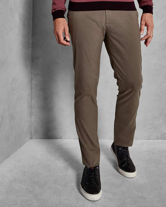 Ted Baker SEMPLTT Brushed semi-plain trousers