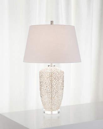 John-Richard Collection Silver Vines Table Lamp