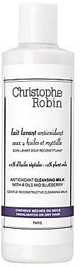 Christophe Robin Women's Antioxidant Cleansing Milk with 4 Oils& Blueberry/13.3 oz.