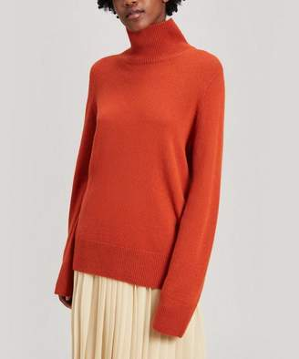 The Row Milina Wool And Cashmere Roll-Neck Sweater