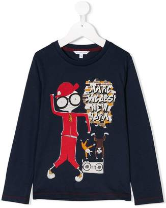 Little Marc Jacobs Mr Marc printed T-shirt