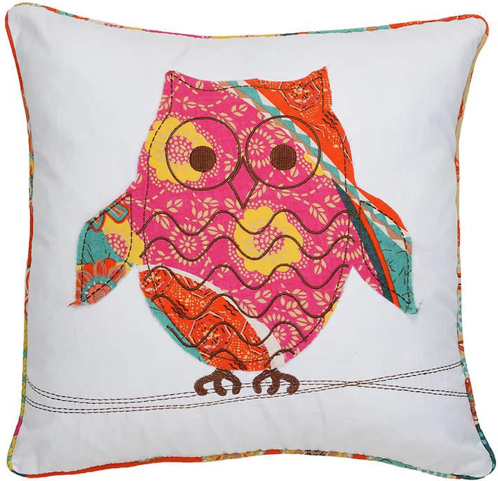 Owl Madagascar Throw Pillow