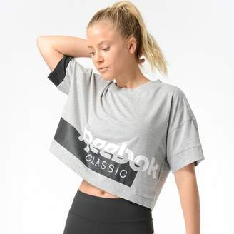 Reebok Always Classic Cropped T-Shirt - Women's