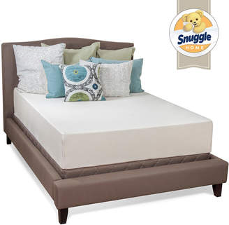 SNUGGLE HOME Snuggle Home 12 Medium Tight-Top Gel Memory Foam Mattress