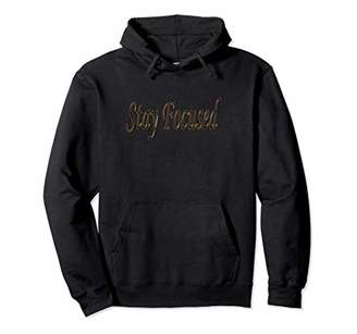 Stay Focused Set Your Eyes On The Prize Hooded Sweatshirt