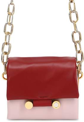 Marni Small Caddy Leather Shoulder Bag
