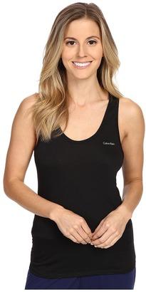 Calvin Klein Underwear Liquid Lounge Tank Top $40 thestylecure.com