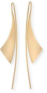 Lana Small Gloss 14K Gold Hoop Earrings